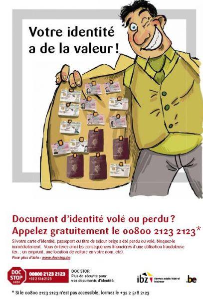 déclaration vol carte identité Attestation de déclaration de perte ou de vol de carte d'identité