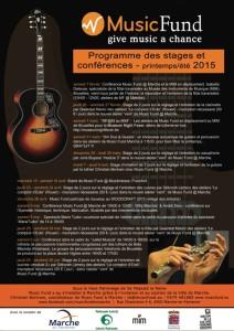 programme printemps 2015