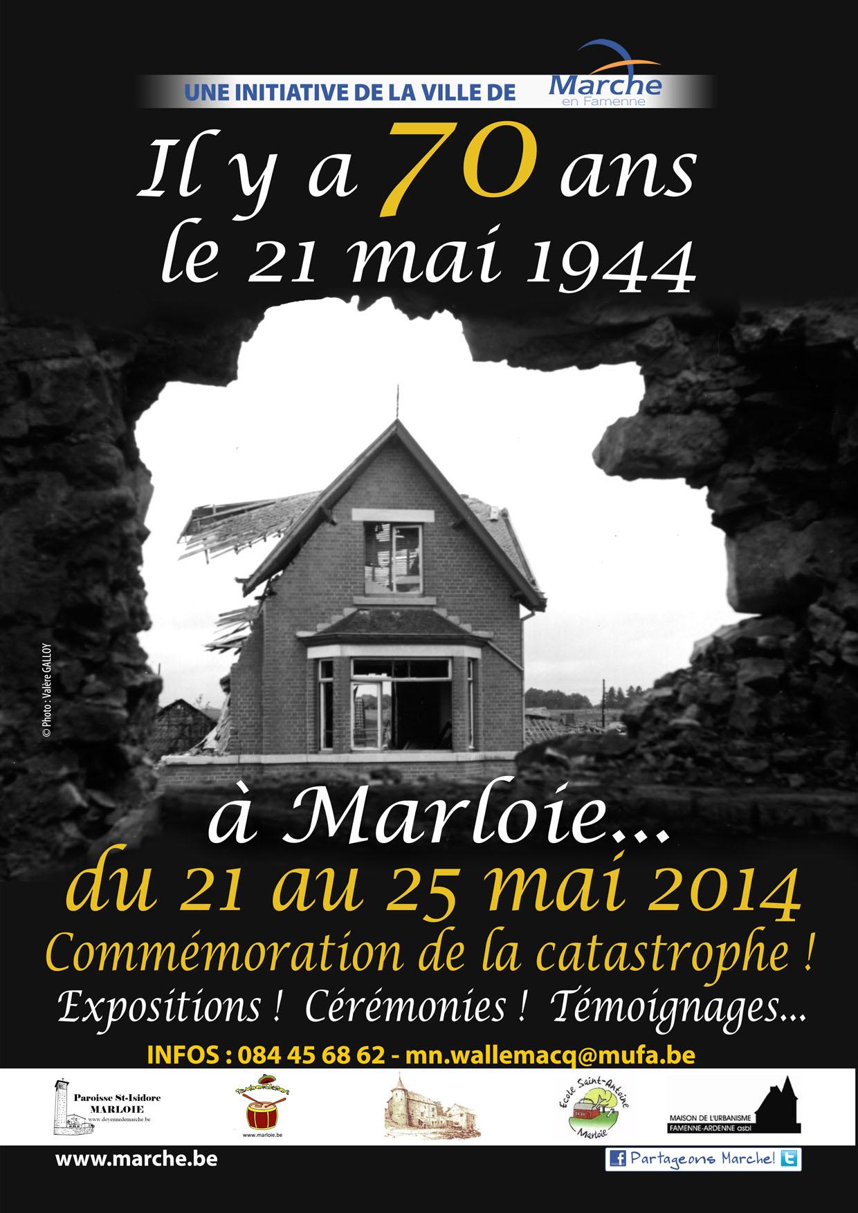 Les 70 ans de la catastrophe de Marloie. | Tourisme ...