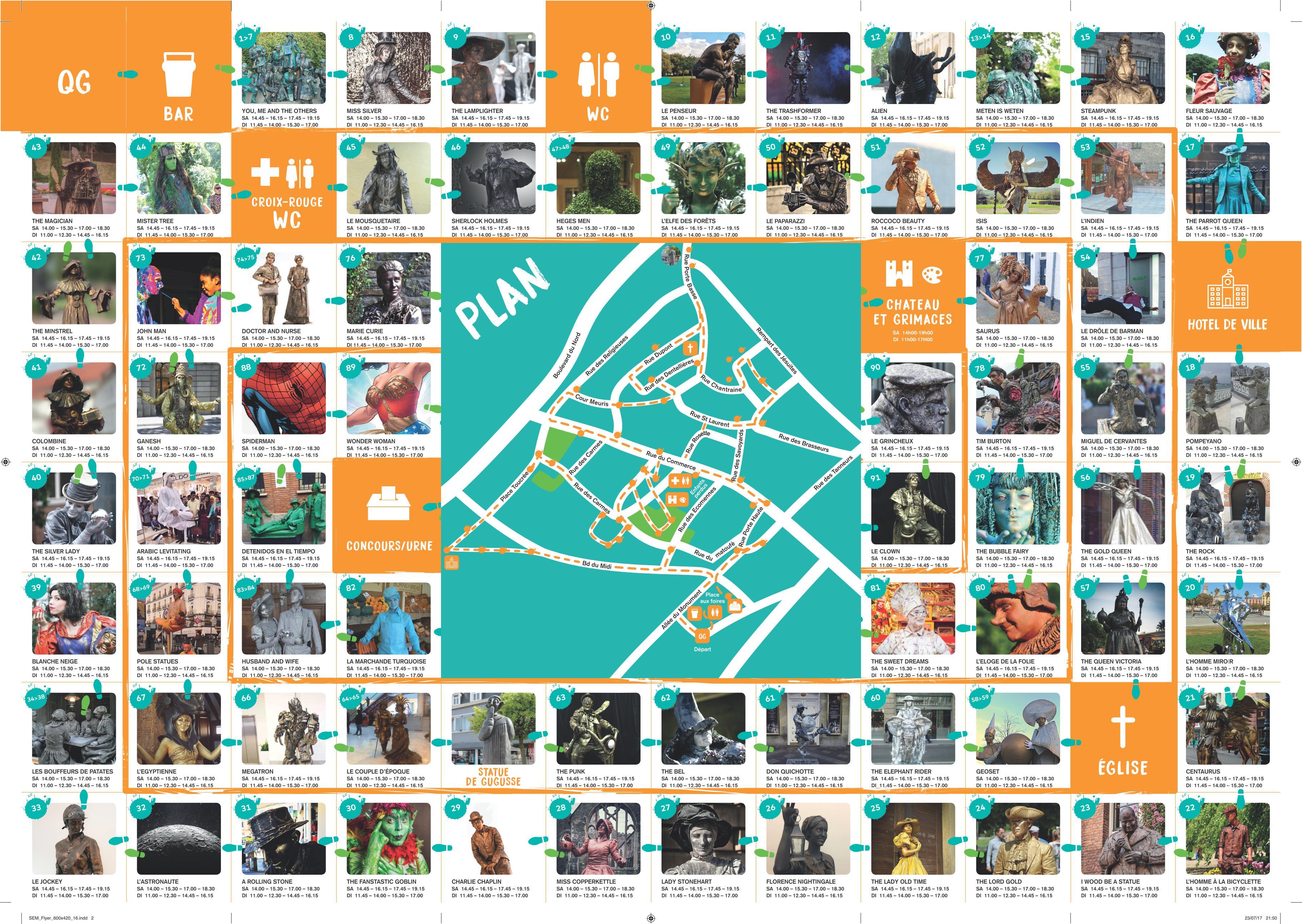 Plan | Tourisme | Ville de Marche-en-Famenne